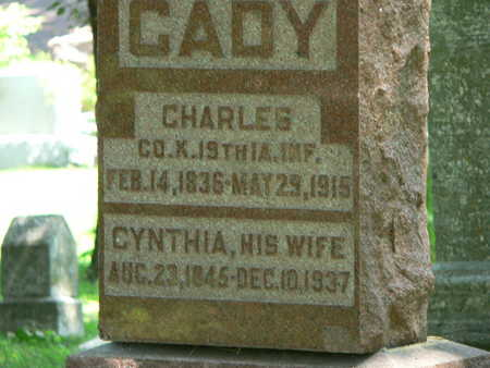 CADY, CHARLES - Polk County, Iowa | CHARLES CADY