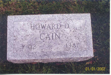 CAIN, HOWARD O. - Polk County, Iowa | HOWARD O. CAIN