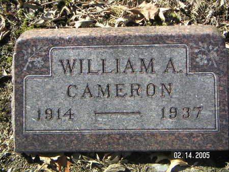 CAMERON, WILLIAM A. - Polk County, Iowa | WILLIAM A. CAMERON