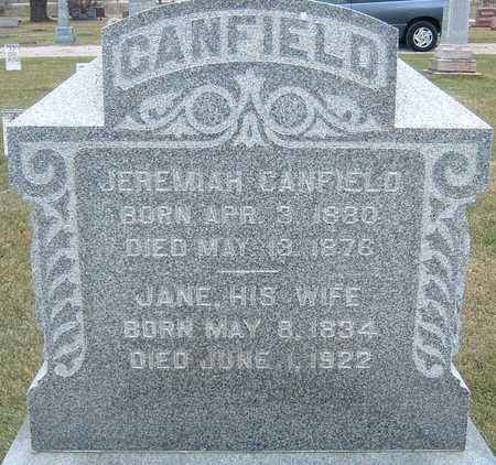 CANFIELD, JEREMIAH - Polk County, Iowa | JEREMIAH CANFIELD