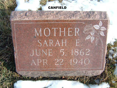CANFIELD, SARAH E. - Polk County, Iowa | SARAH E. CANFIELD