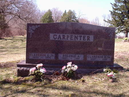 CARPENTER, DOLORIS A - Polk County, Iowa | DOLORIS A CARPENTER