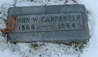 CARPENTER, JOHN W. - Polk County, Iowa | JOHN W. CARPENTER