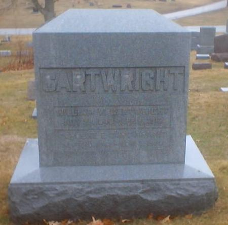CARTWRIGHT, CAROLINE E. - Polk County, Iowa | CAROLINE E. CARTWRIGHT