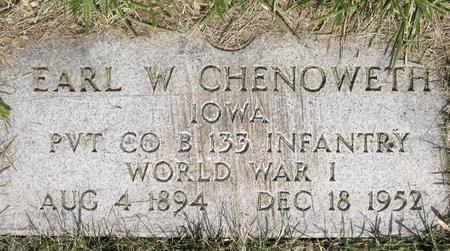 CHENOWETH, EARL W. - Polk County, Iowa | EARL W. CHENOWETH