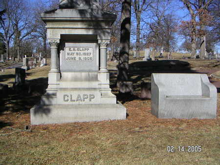 CLAPP, EDWARD R. - Polk County, Iowa | EDWARD R. CLAPP