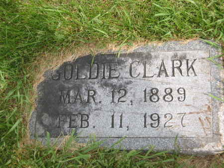 CLARK, GOLDIE - Polk County, Iowa | GOLDIE CLARK