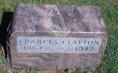 CLAYTON, FRANCES - Polk County, Iowa | FRANCES CLAYTON