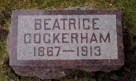 COCKERHAM, BEATRICE - Polk County, Iowa | BEATRICE COCKERHAM