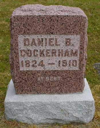 COCKERHAM, DANIEL B. - Polk County, Iowa | DANIEL B. COCKERHAM