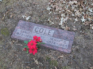 COLE, GRACE - Polk County, Iowa | GRACE COLE