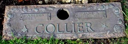 COLLIER, ARTHUR - Polk County, Iowa | ARTHUR COLLIER