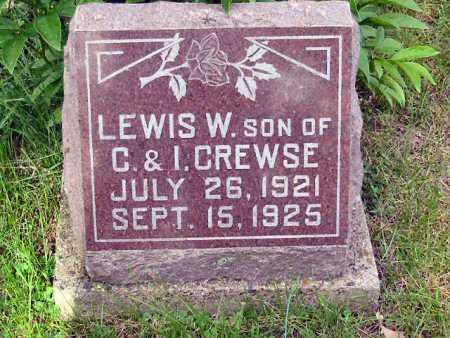 CREWSE, LEWIS W. - Polk County, Iowa | LEWIS W. CREWSE