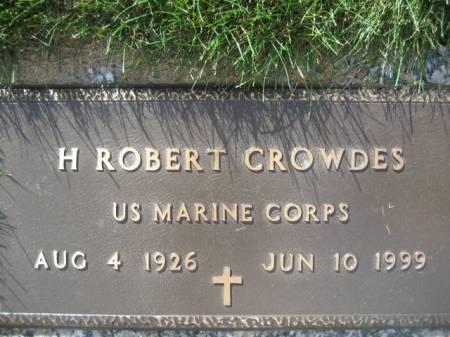 CROWDES, H. ROBERT - Polk County, Iowa   H. ROBERT CROWDES