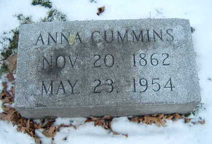 CUMMINS, ANNA - Polk County, Iowa | ANNA CUMMINS