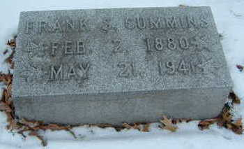 CUMMINS, FRANK S. - Polk County, Iowa | FRANK S. CUMMINS