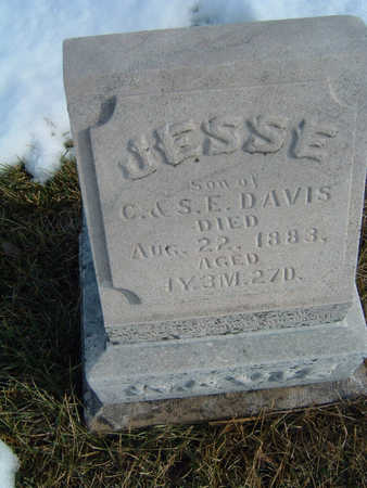 DAVIS, JESSIE S/O C. & S.E. - Polk County, Iowa | JESSIE S/O C. & S.E. DAVIS