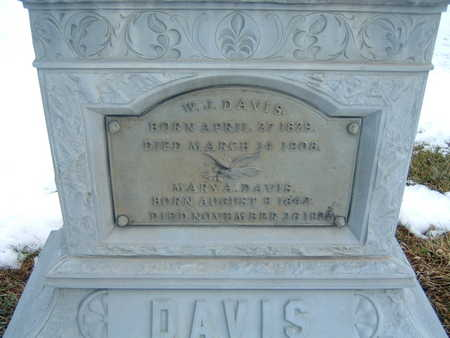DAVIS, MARY A. - Polk County, Iowa | MARY A. DAVIS