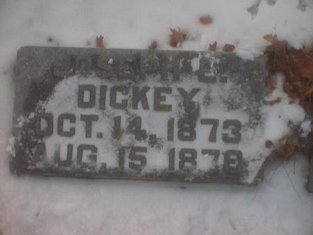 DICKEY, JOSEPH E. - Polk County, Iowa | JOSEPH E. DICKEY
