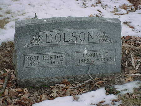 DOLSON, GEORGE - Polk County, Iowa | GEORGE DOLSON
