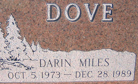 DOVE, DARIN MILES - Polk County, Iowa | DARIN MILES DOVE