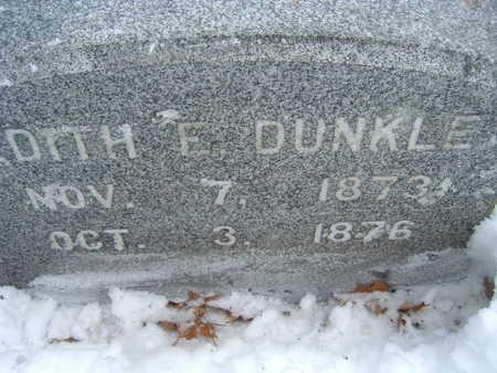 DUNKLE, EDITH - Polk County, Iowa   EDITH DUNKLE