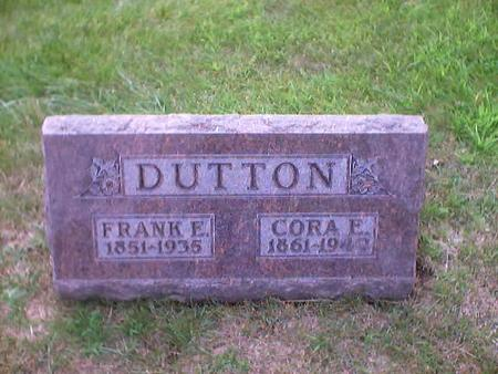 DUTTON, CORA E. - Polk County, Iowa | CORA E. DUTTON