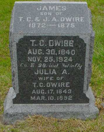 DWIRE, JULIA A. - Polk County, Iowa | JULIA A. DWIRE