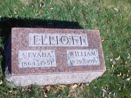 ELLIOTT, JESSIE NEVADA - Polk County, Iowa | JESSIE NEVADA ELLIOTT