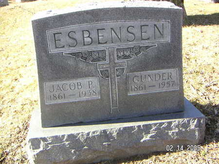 ESBENSEN, JACOB P. - Polk County, Iowa | JACOB P. ESBENSEN