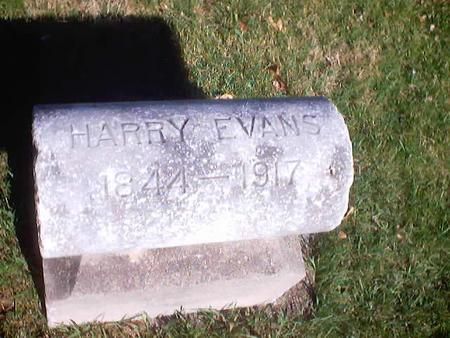 EVANS, HARRY - Polk County, Iowa | HARRY EVANS