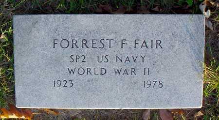 FAIR, FORREST F. - Polk County, Iowa | FORREST F. FAIR