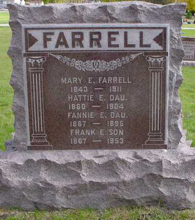 FARRELL, MARY E. - Polk County, Iowa | MARY E. FARRELL