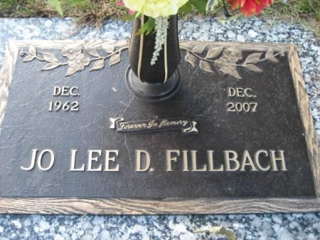FILLBACH, JO LEE D - Polk County, Iowa | JO LEE D FILLBACH