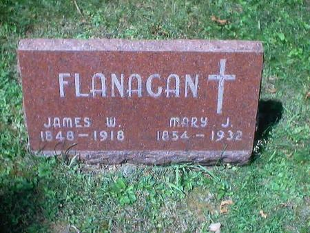 FLANAGAN, JAMES W. - Polk County, Iowa | JAMES W. FLANAGAN