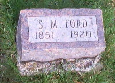 FORD, S. M. - Polk County, Iowa | S. M. FORD