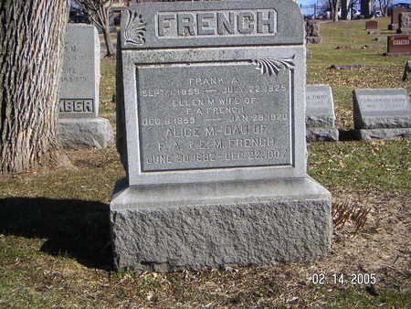 FRENCH, ELLEN M - Polk County, Iowa | ELLEN M FRENCH