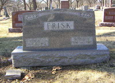 FRISK, FAMILY - Polk County, Iowa | FAMILY FRISK