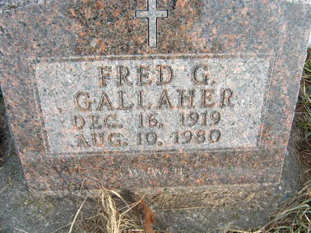GALLAHER, FRED G. - Polk County, Iowa | FRED G. GALLAHER