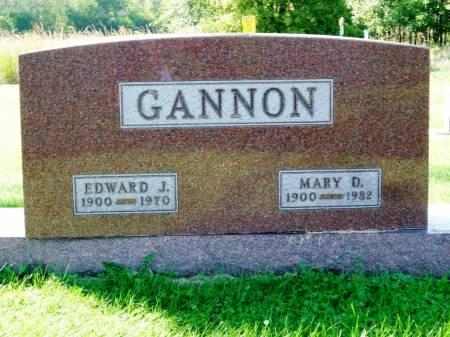 GANNON, MARY D. - Polk County, Iowa | MARY D. GANNON