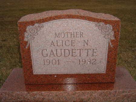 GAUDETTE, ALICE - Polk County, Iowa | ALICE GAUDETTE