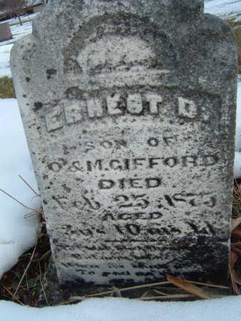 GIFFORD, ERNEST D. - Polk County, Iowa | ERNEST D. GIFFORD