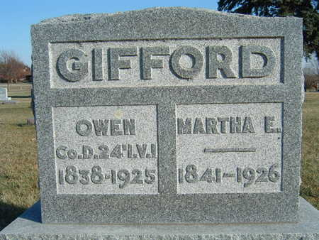 GIFFORD, MARTHA E. - Polk County, Iowa | MARTHA E. GIFFORD