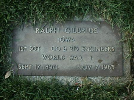 GILBRIDE, RALPH - Polk County, Iowa | RALPH GILBRIDE