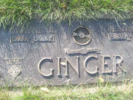 GINGER, DWAYNE R - Polk County, Iowa | DWAYNE R GINGER
