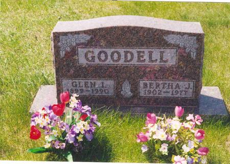 GOODELL, BERTHA - Polk County, Iowa | BERTHA GOODELL