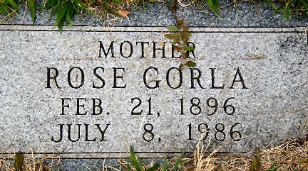 GORLA, ROSE - Polk County, Iowa | ROSE GORLA