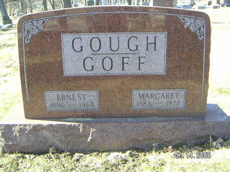 GOUGH, GOFF ERNEST - Polk County, Iowa | GOFF ERNEST GOUGH