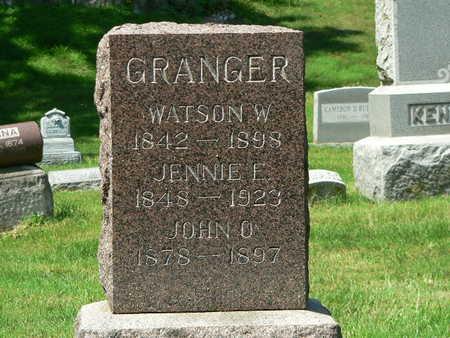 GRANGER, JENNIE E. - Polk County, Iowa | JENNIE E. GRANGER
