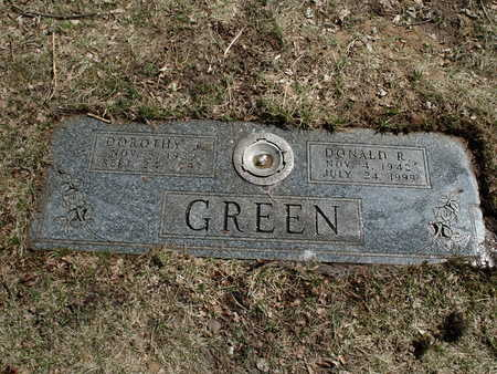 GREEN, DONALD  L - Polk County, Iowa | DONALD  L GREEN